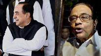 'He steals others views': Subramanian Swamy mocks P Chidambaram's comment on 18 disqualified TN MLAs