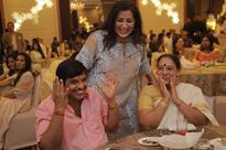 Ambareesh celebrates 64th birthday: Puneeth Rajkumar, Darshan, Yash, Upendra bond at the party [Photos]