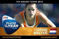 Lidewij Welten - Hockey Stars 2015 women's Player of the Year