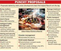 Capital Ranchi gets smart city funding