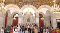 President Ram Nath Kovind confers Sangeet Natak Akademi awards, fellowships
