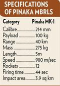 Pinaka rocket system wins DRDO award