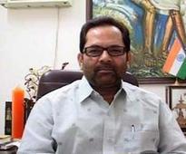 Communal riots decreased by 200% under NDA rule, says Mukhtar Abbas Naqvi