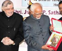 Real Happiness Lies in not Being Served But Serving Others: Ansari
