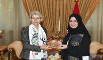 FNC Speaker briefs head of UNESCO on Global Summit