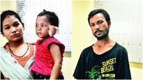 Man held for chopping off 3-year-old daughter's ears