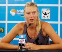 Sharapova picked for Russia's Rio 2016 Olympics team despite ban