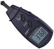 Contact Tachometer automatically saves values during testing.