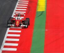 Austrian Grand Prix: Sebastian Vettel fastest after Nico Rosberg crashes