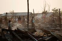 Rohingya refugee camp gutted in Rakhine State fire