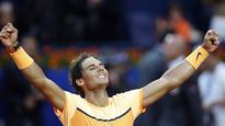 > tennis Nadal equals Vilas record