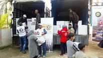 Kuwait Red Crescent delivers aid to 450 Syrian families in Lebanon