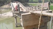 Bridge collapse causes long-term woe to 20,000 villagers