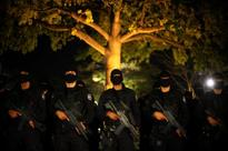 Elite masked police units lead murder capital El Salvador's 'iron fist' war against drugs gangs