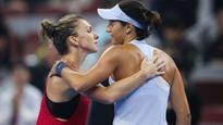 WTA Finals: Simona Halep, Caroline Wozniacki claim wins