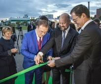 Biopharmaceutical Plant Opens in Russia