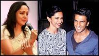 When Hema Malini unknowingly trolled Deepika-Ranveer fans with just one tweet!