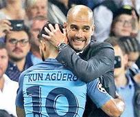 Guardiola hails hattrick hero Aguero