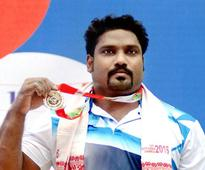 Tiruchi weightlifter wins gold at South Asian Games