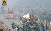 Digital India, Swachh Bharat And Tigers Adorn Republic Day Floats