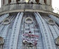 Man on St. Peter's dome has climbed church before