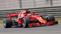Chinese GP: Sebastian Vettel leads Ferrari one-two in final practice, Daniel Ricciardo grounds to a halt