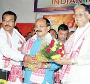 MLAs, former student leaders join Cong
