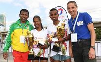 2016 Great Ethiopian Run: Gashahun and Tesfaye are Surprise Winners