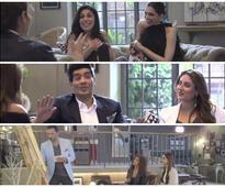 Celebrity BFF's! Kareena-Manish, Deepika-Anaita, Sonam-Atul get candid for a talk show!