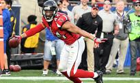 The Falcons' Vic Beasley botched his celebration after a strip-sack touchdown