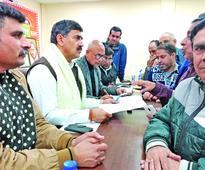 Jugal holds Darbar, interacts with Karyakartas, public