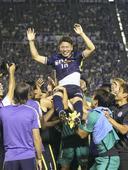 Asano bids adieu to Hiroshima