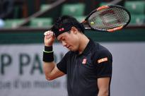 Nishikori falls short in Paris
