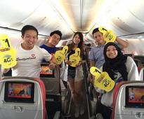 Digi Offers In-Flight Internet Roaming With Malindo Airways