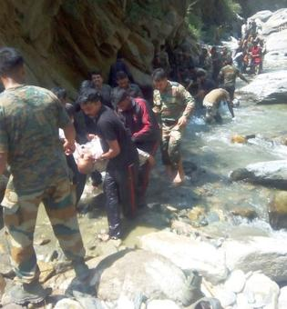 16 Amarnath pilgrims killed, 27 injured in bus accident