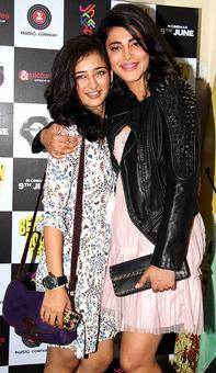 PIX: Akshara Haasan cheers sister Shruti