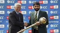 WATCH: ICC presents Test Championship mace to Pakistan