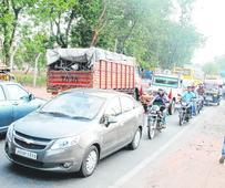 Traffic torment in Ranchi