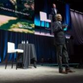 Cerner CEO Patterson, fighting cancer, makes surprise appearance