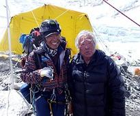 Veteran climbers aged 80, 81 race to break older Everest climber record