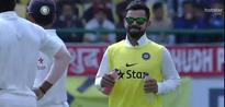 What they said about Kohli, the water boy!