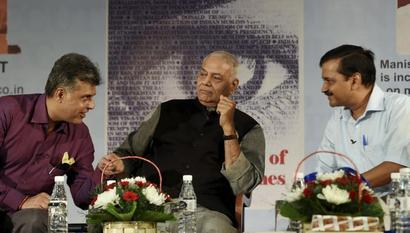 Disqualification of AAP MLAs miscarriage of justice: Yashwant Sinha