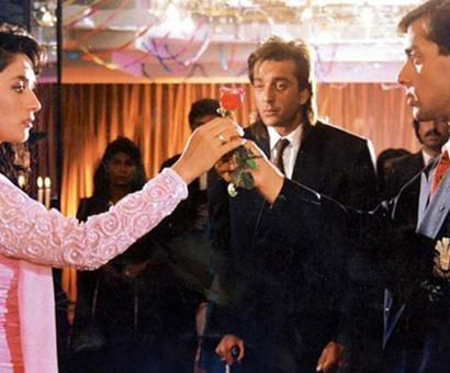 When Sanjay Dutt romanced Madhuri Dixit