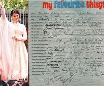When Aishwarya Rai Bachchan opened her heart out in a slam book
