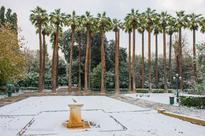 Photos: A Day of Sudden Snowfall in Athens