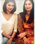 Check out Prachi Desai meets Naureen first wife of Azharuddin