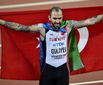 IAAF World Athletic Championships 2017: Ramil Guliyev stuns Wayde van Niekerk with shock 200m gold