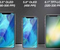 Apple's three new iPhones leaked in images, analyst reveals screen size, type