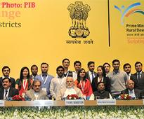 PM's interaction with Prime Minister's Rural Development Fellows
