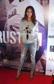 Rustom screening: Akshay Kumar's wife Twinkle, son Aarav and Amitabh Bachchan watch film